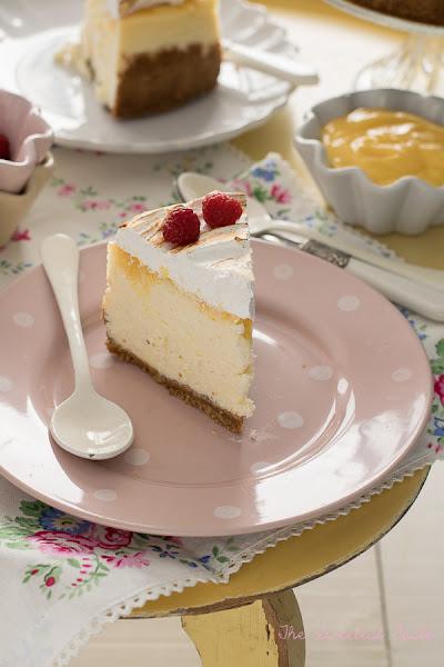 Cheesecake de limón y merengue