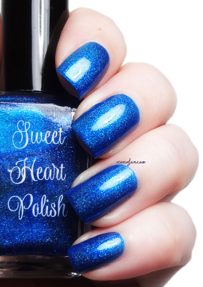 xoxoJen's swatch of Sweet Heart Polish - April Showers