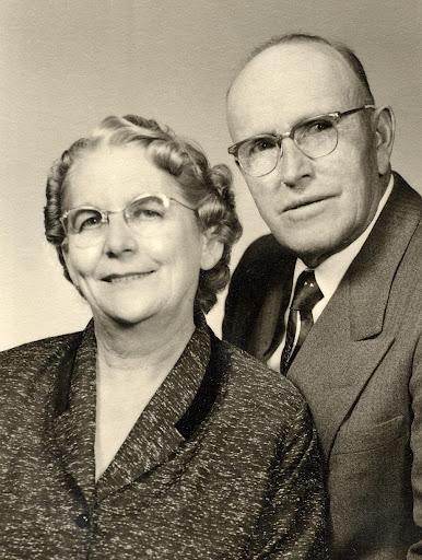 Pearl Harlan and John Hullinger