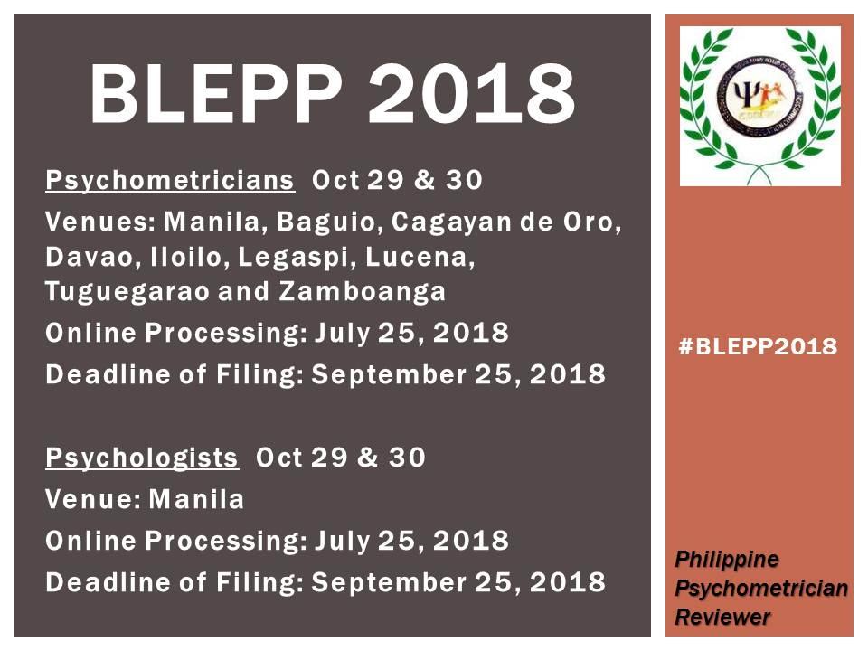 BLEPP 2018