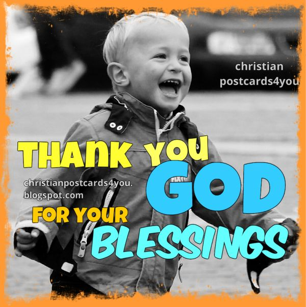 Blessings, thanksgiving, prayer, free christian blessing card, christian quotes