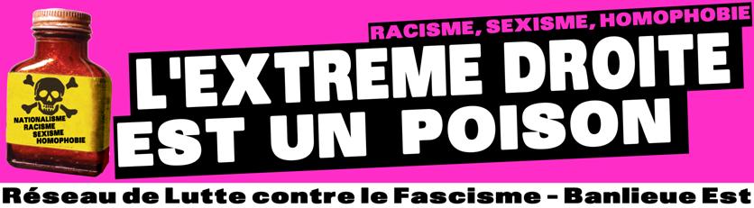 RLF-Banlieue Est : Réseau de Lutte contre le Fascisme