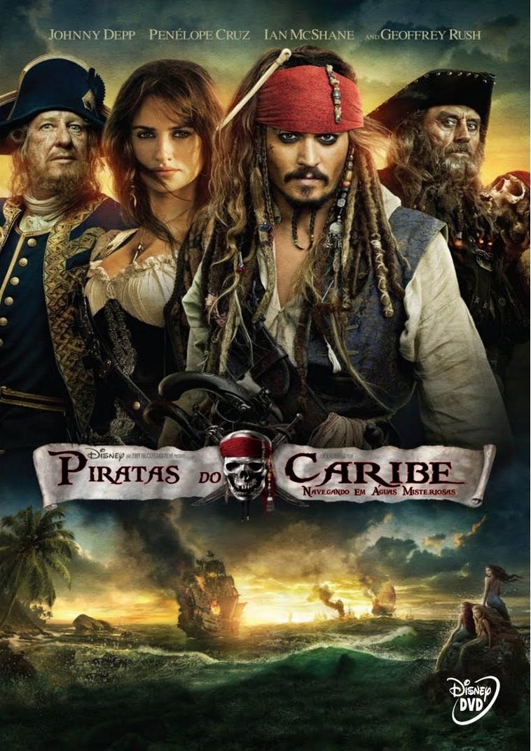 Piratas do Caribe 4: Navegando em Águas Misteriosas – Dublado (2011)