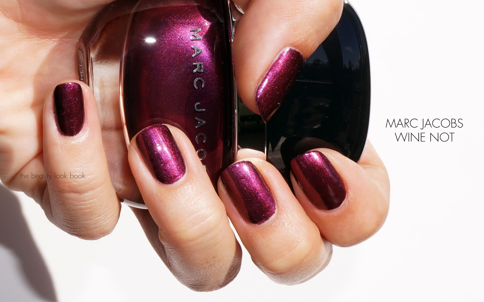 Marc Jacobs Beauty Enamored Hi Shine Nail Lacquer Wine Not The Look Book