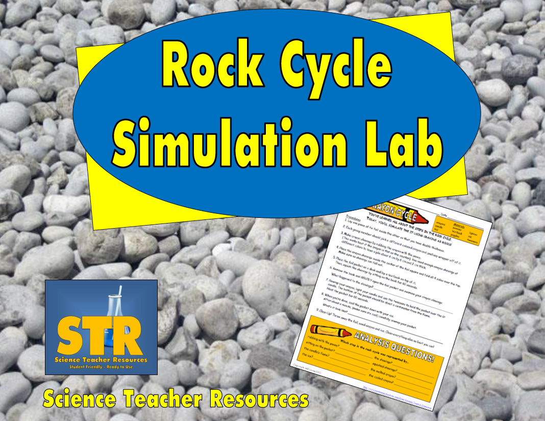 """Free Science Lesson """"rock"""