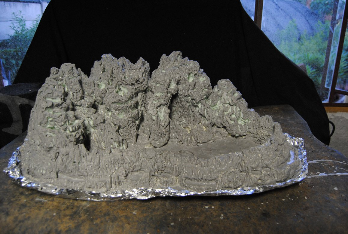 Making Lightweight Rocks Or Mountains LENNARD39S BONSAI BEGINNINGS