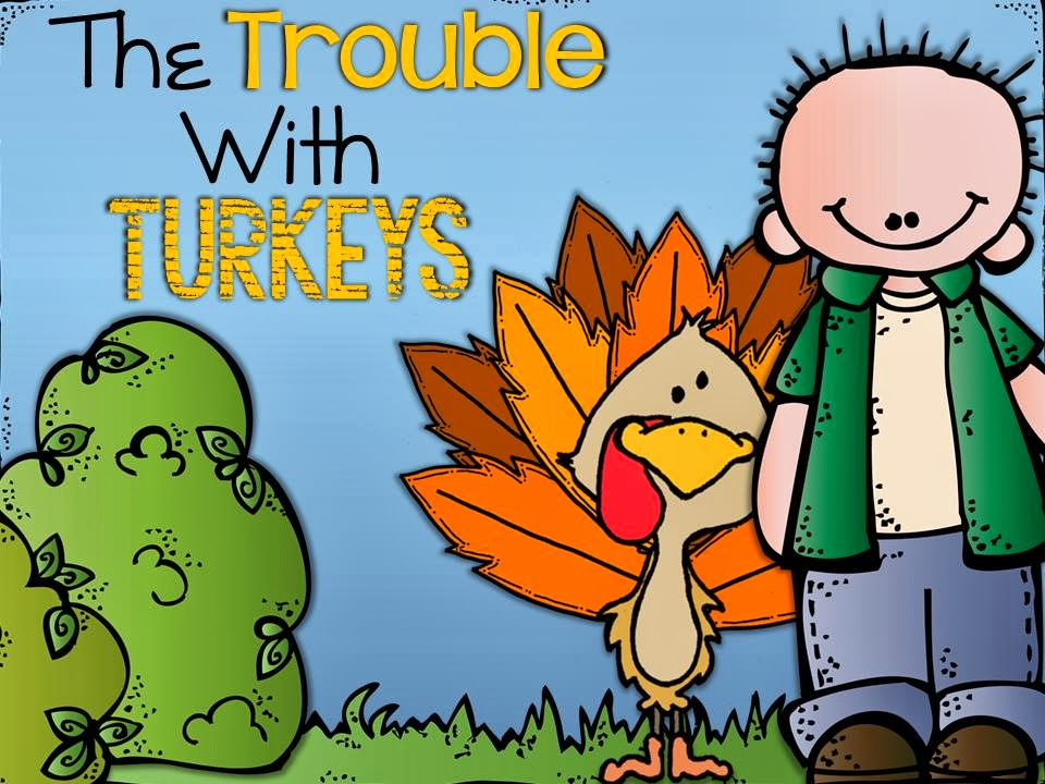 http://www.teacherspayteachers.com/Product/The-Trouble-With-Turkeys-eBook-with-Audio-Printable-Book-Activity-Pack-959872