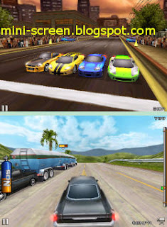 Game: Fast and Furious the Game for iPhone Interface