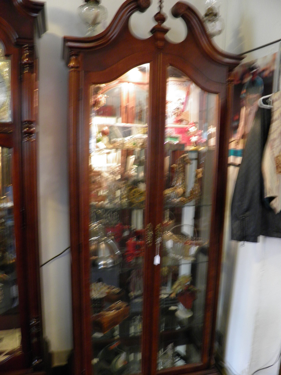 Large Lighted Curio 325.00