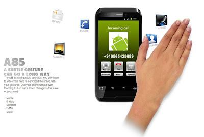 [CES 2012] Que tal executar algumas funções do seu Android apenas com gestos?