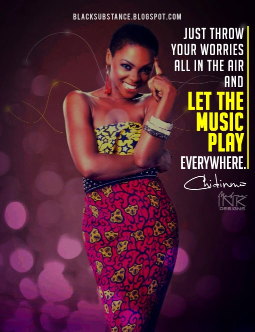 chidinma quote lyrics blacksubstance