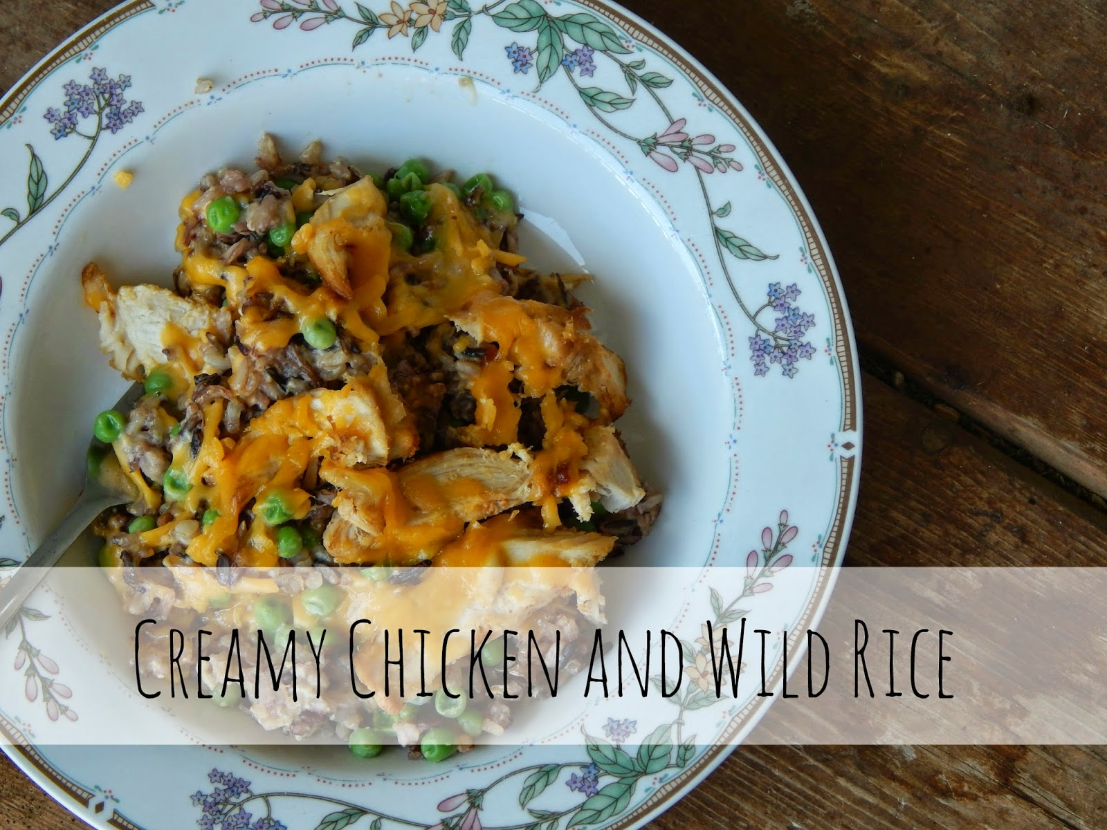 Creamy Chicken and Wild Rice Recipe #Labels4Edu #cbias #shop