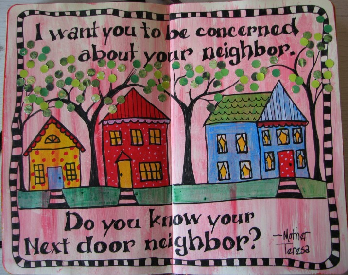 essay on neighbour to your next door Have you messaged your text door neighbour to wish them a happy new year yet if not, what are you waiting for it's the new way to make friends with strangers on.