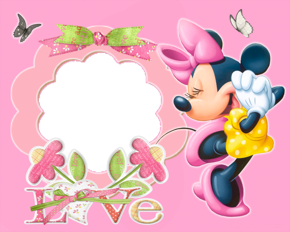 Minnie Mouse Borders and Frames