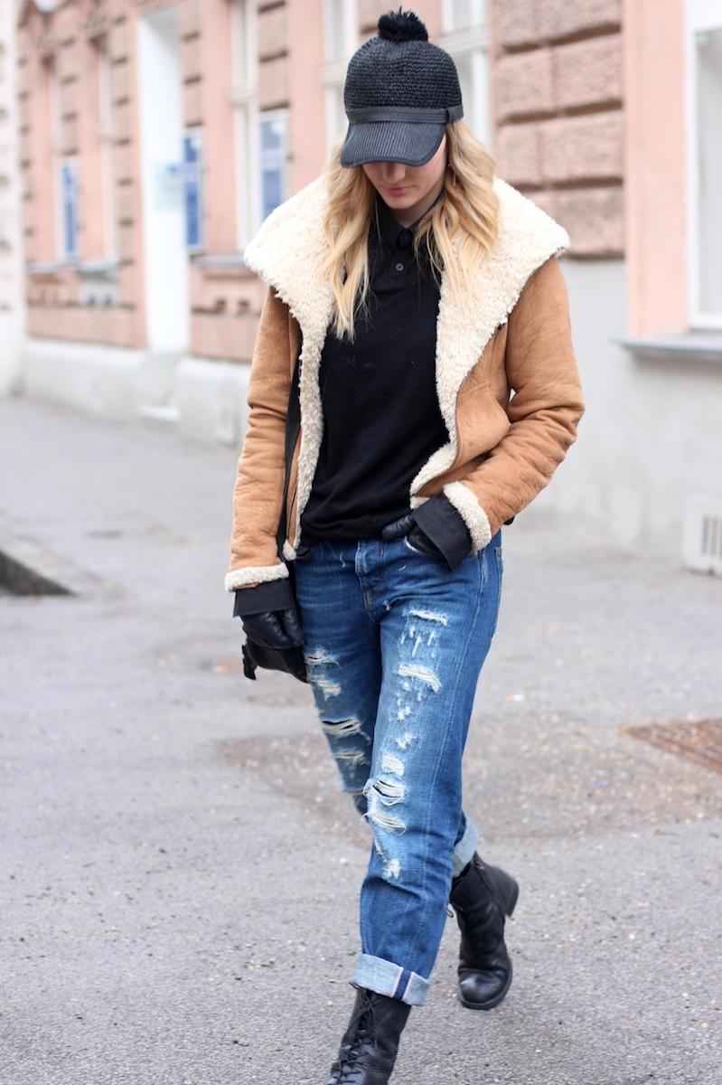 Ugg Boots Boyfriend Jeans
