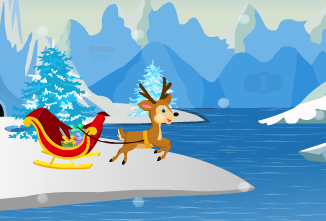 AjazGames Santa Ice Escape