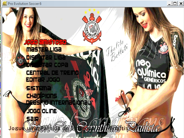 Menu Musas Do Corinthians 2011 2012  Pedido Para Pes 6