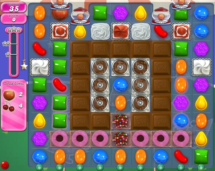 Level 406 | Candy Crush tips level 406