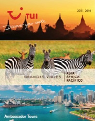 Catálogo de viajes Asia, África y Pacífico 2015-2016