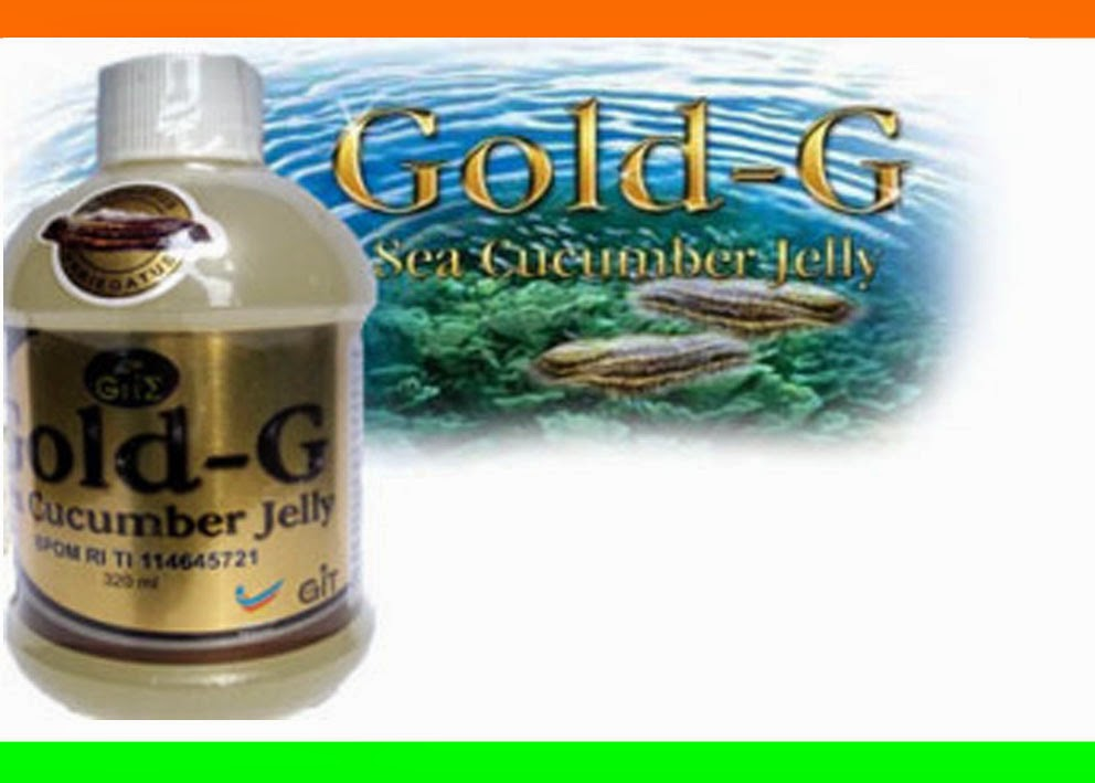 Obat Tradisional Jelly Gamat Gold G
