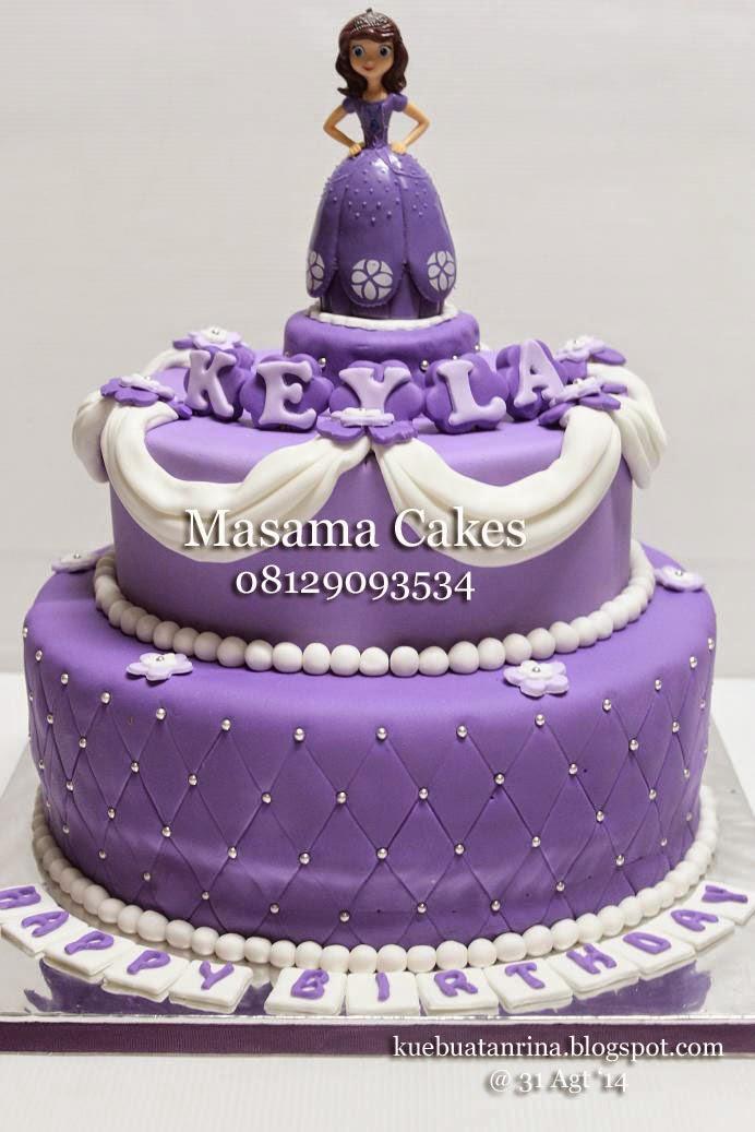 Masama Cakes Sofia The First Birthday Cake For Keyla