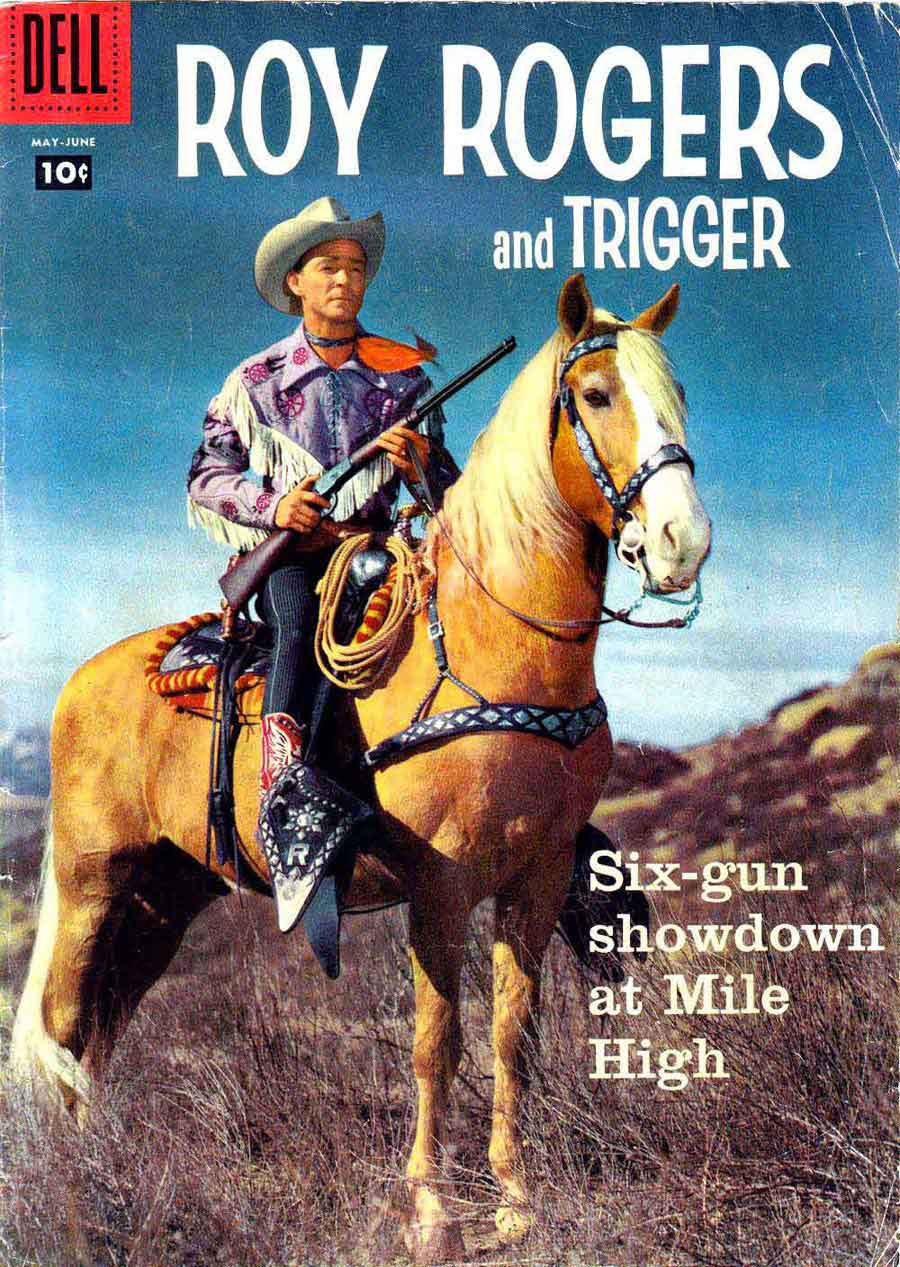 Pencil Ink : Roy Rogers and Trigger #125 - mis-attributed ...