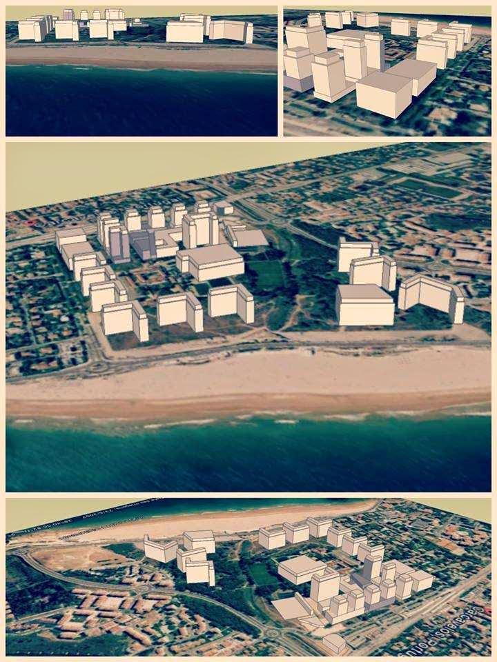 praia construção torres hoteis 2014