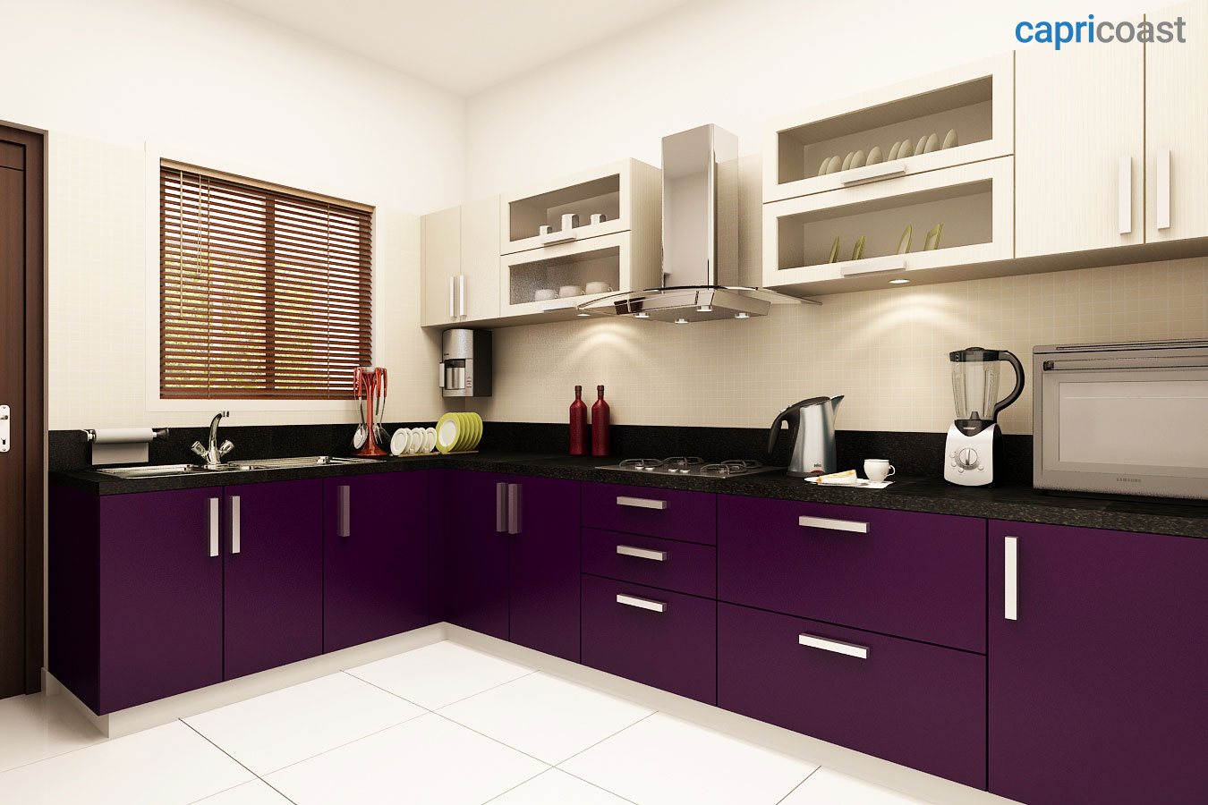 Modular Kitchen Interiors Design Decor Disha Capricoast The Smart Way To Do Your Kitchen
