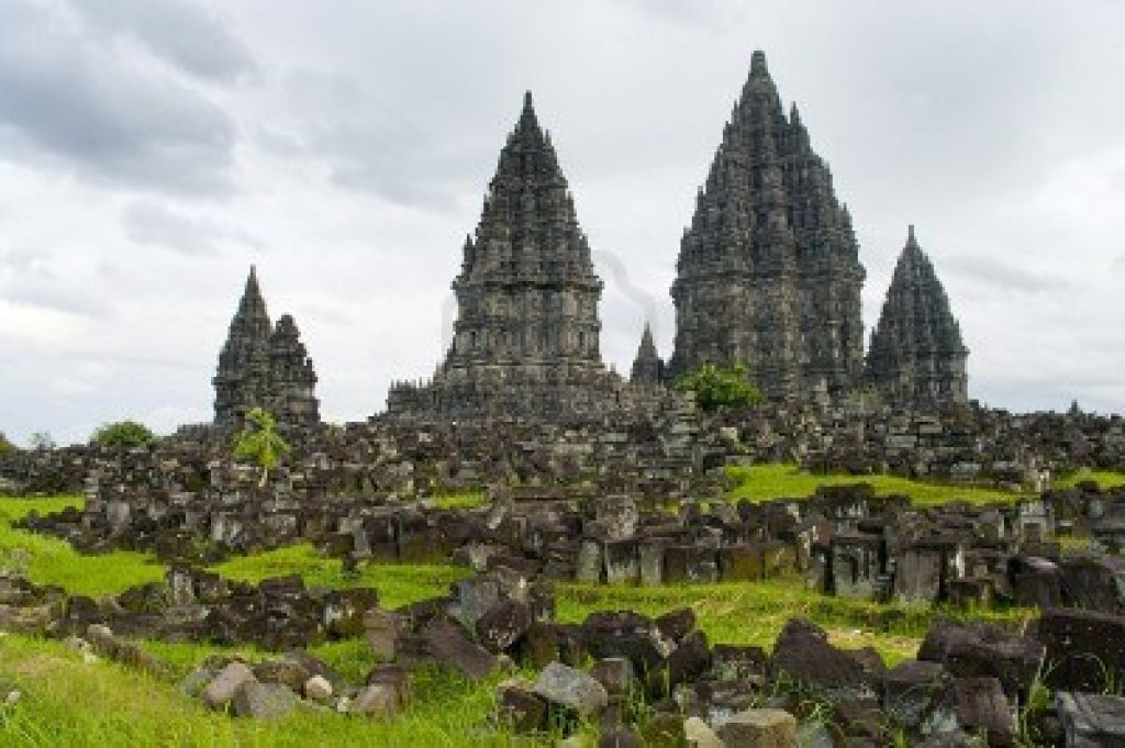 Full Picture Prambanan Temple Indonesia