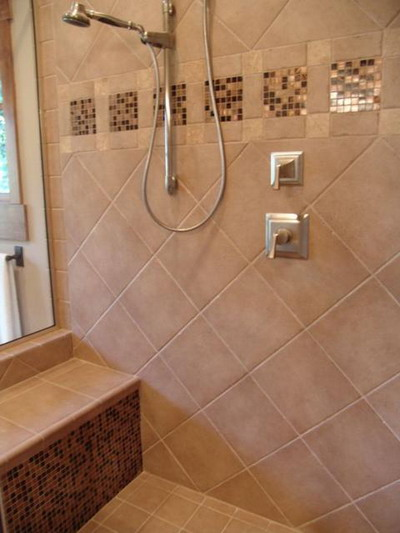 Some Amazing Shower Tiles Idea To Spruce Up The Look Of