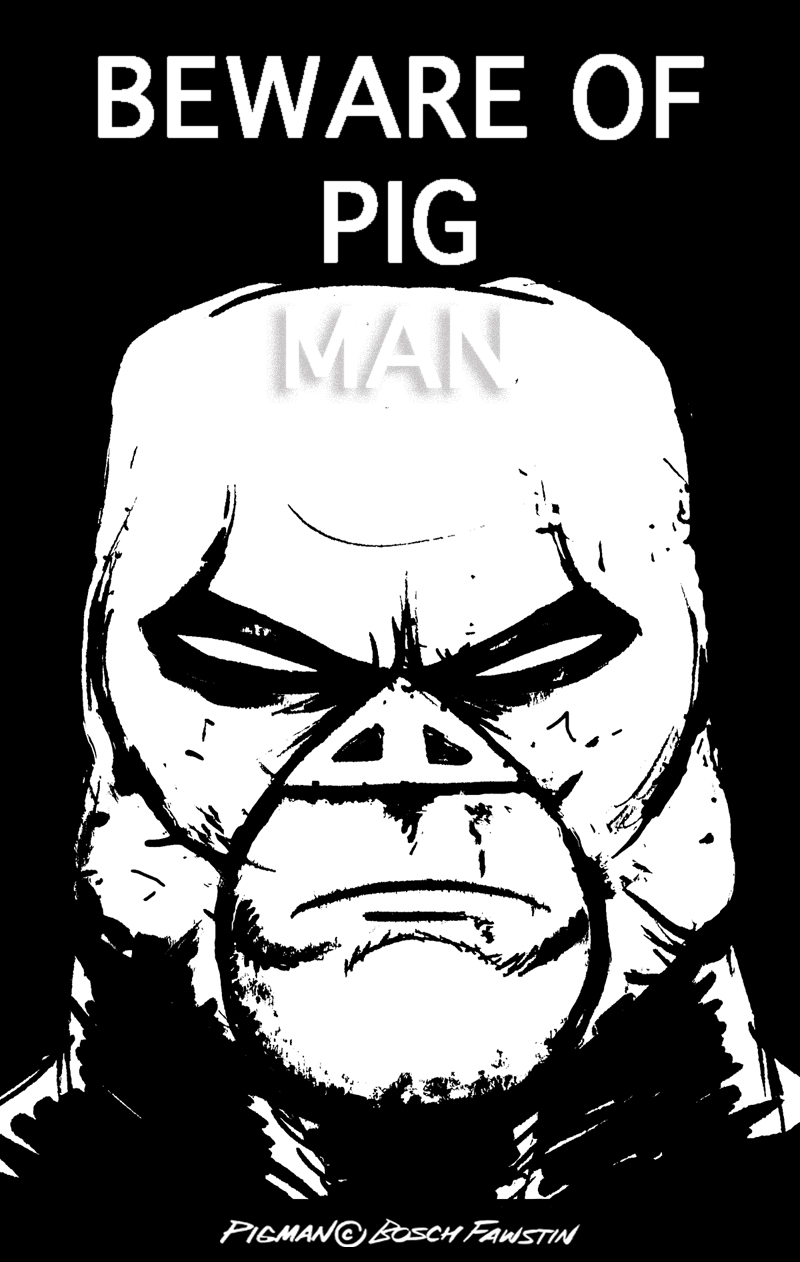 Pigman Comics See Pigman in Comic Book