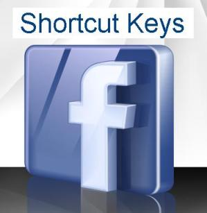facebook shortcut keys height=