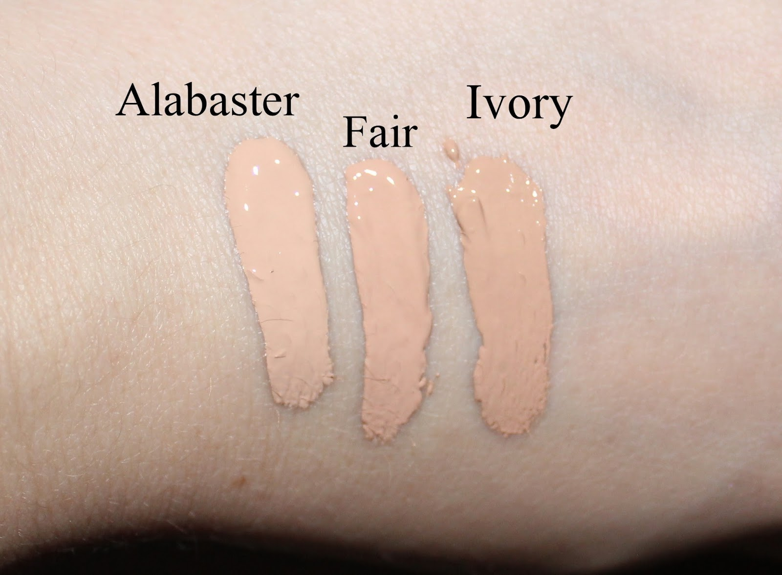 Clinique Beyond Perfecting Foundation and Concealer Swatches