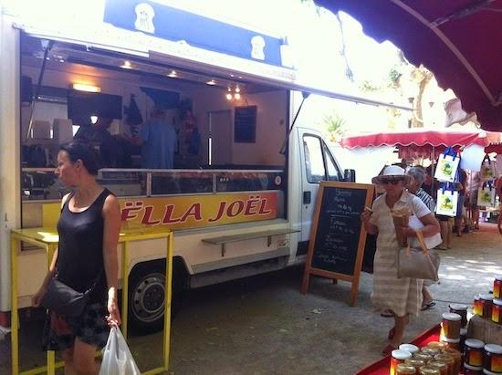 Paella for sale in Collioure