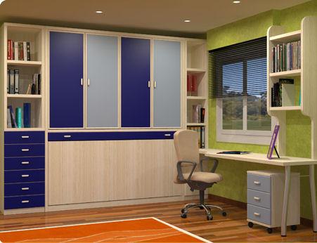 Muebles juveniles dormitorios infantiles y habitaciones juveniles en madrid 05 01 2012 06 - Habitaciones juveniles camas abatibles horizontales ...