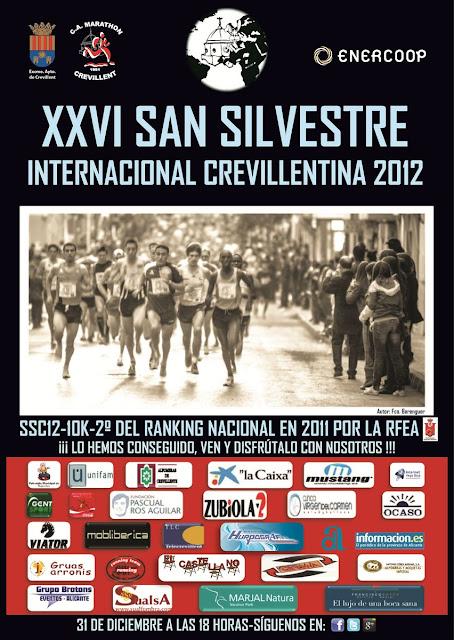 CARTEL OFICIAL SSC12 ARR 1600x1200 - EN VALENCIA: San Silvestre en Crevillente