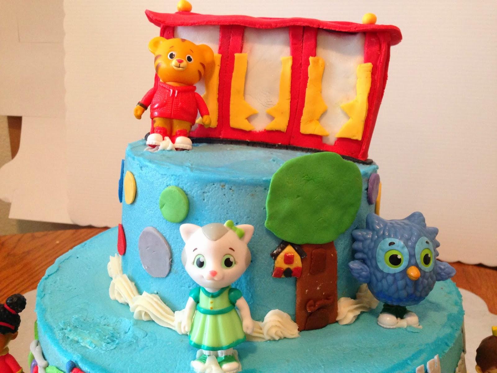 Project Randi Daniel Tiger Birthday Cake