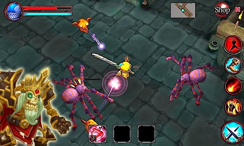 Game Petualangan Seru : Mini Dungeons APK Modded
