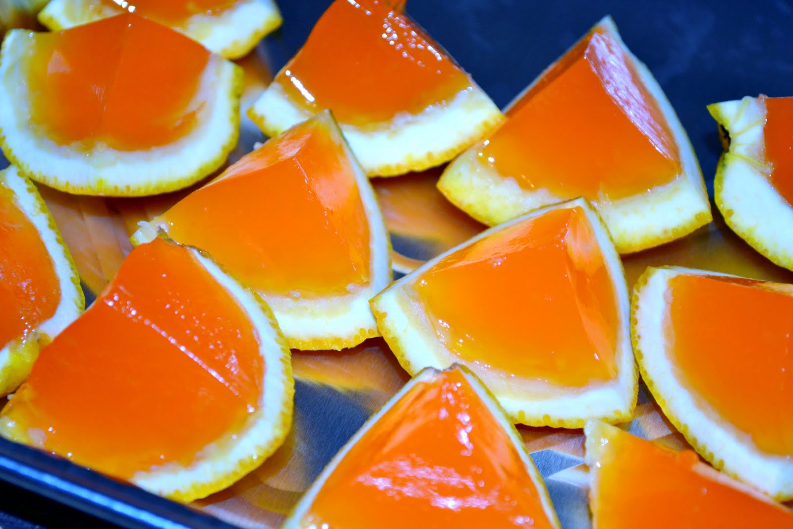 Creamsicle Jello Shots Recipe — Dishmaps