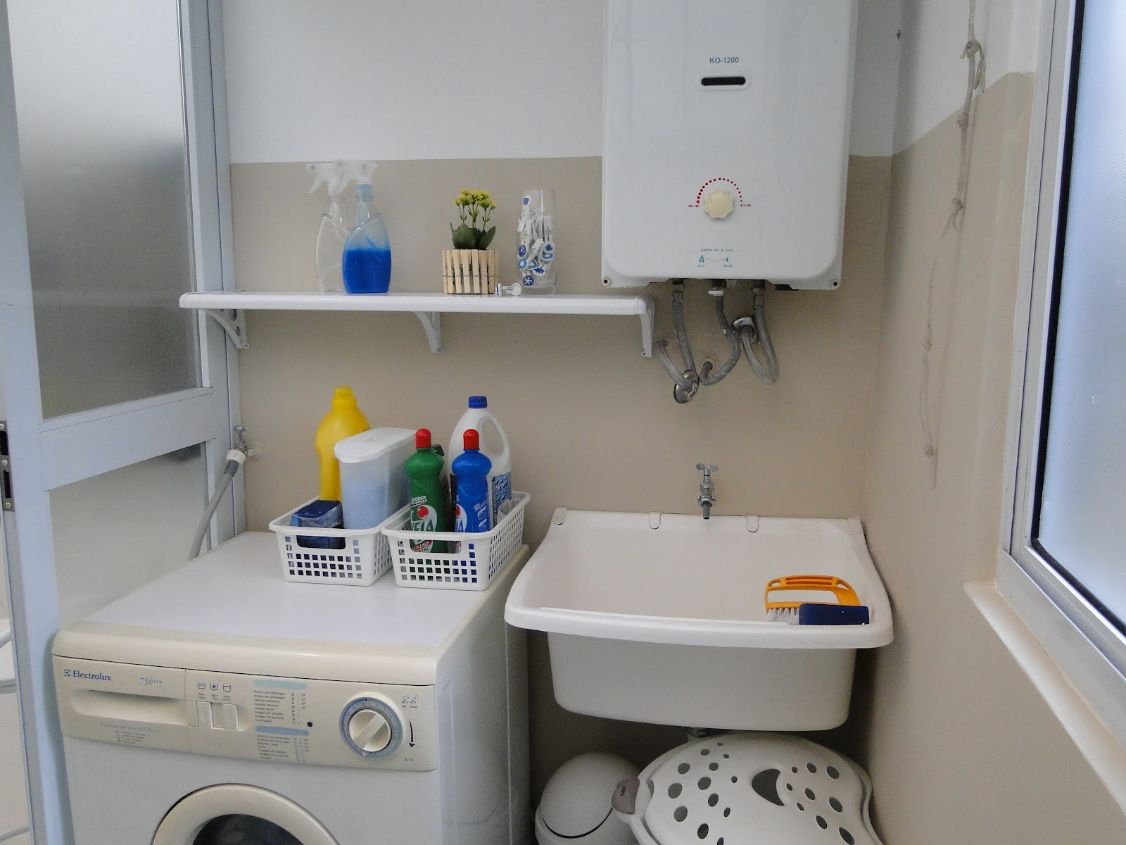 organizadoras separei o que é para lavar e o que é para limpar #1C3A7A 1600 1200