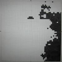 Fernando Pessoa: Pintura Quadrículas 3