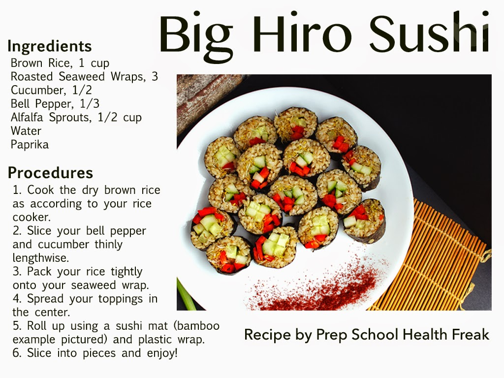 recipe for nori wraps with brown rice red bell pepper cucumber alfalfa paprika