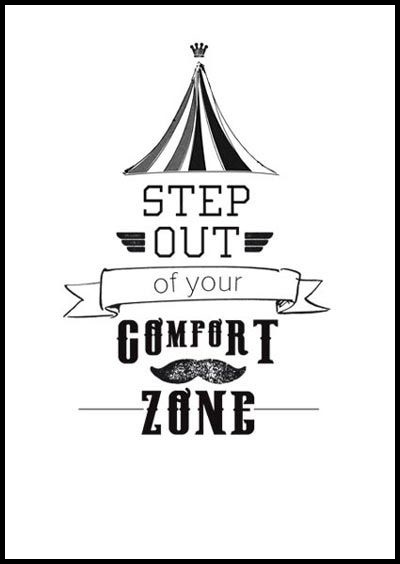 Stepping Out of Your Comfort Zone Challenge