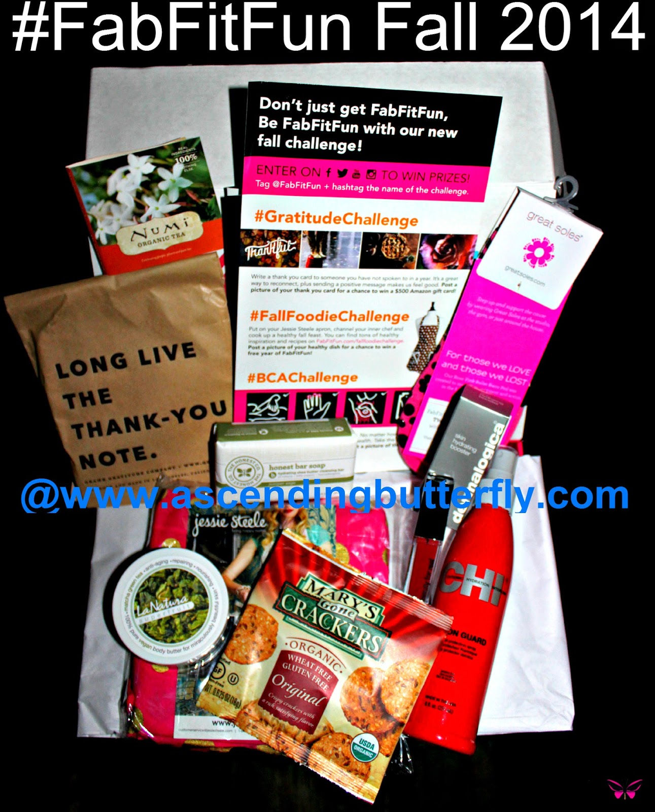 FabFitFun Fall 2014 Subscription Box