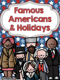 http://www.teacherspayteachers.com/Product/Famous-Americans-Holidays-865214