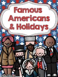 http://www.teacherspayteachers.com/Product/Famous-Americans-Holidays-865214
