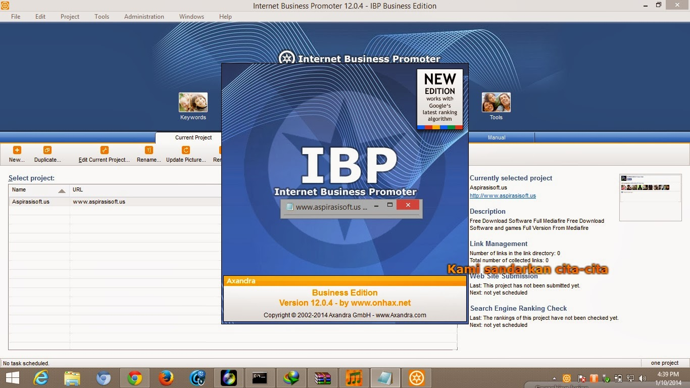 Internet Business Promoter 12 Business Edition Full Activator - RGhost