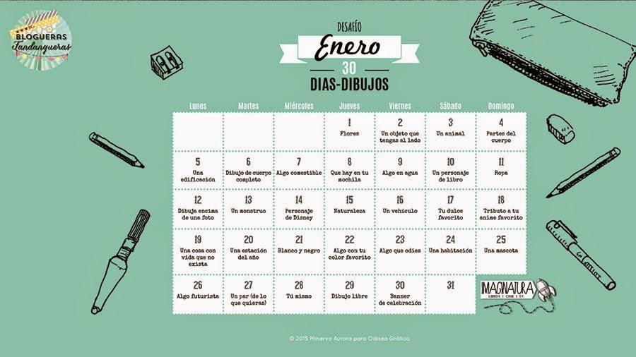 calendario de Enero seis