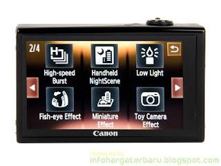 Harga CANON Digital IXUS 510 HS Spesifikasi 2012