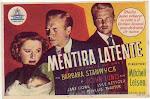 Mentira latente-La maravillosa Barbara Stamwyck